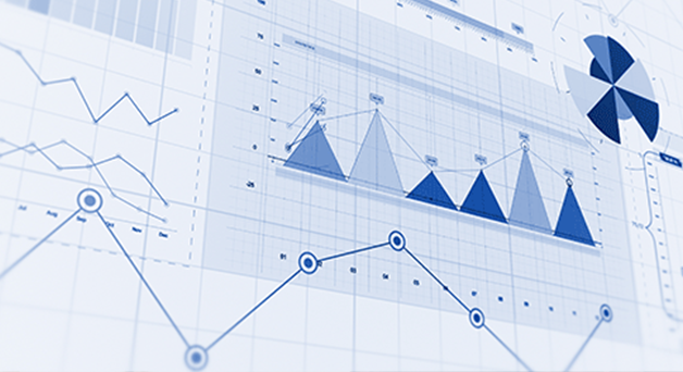 Multiple data visualizations: charts, graphs