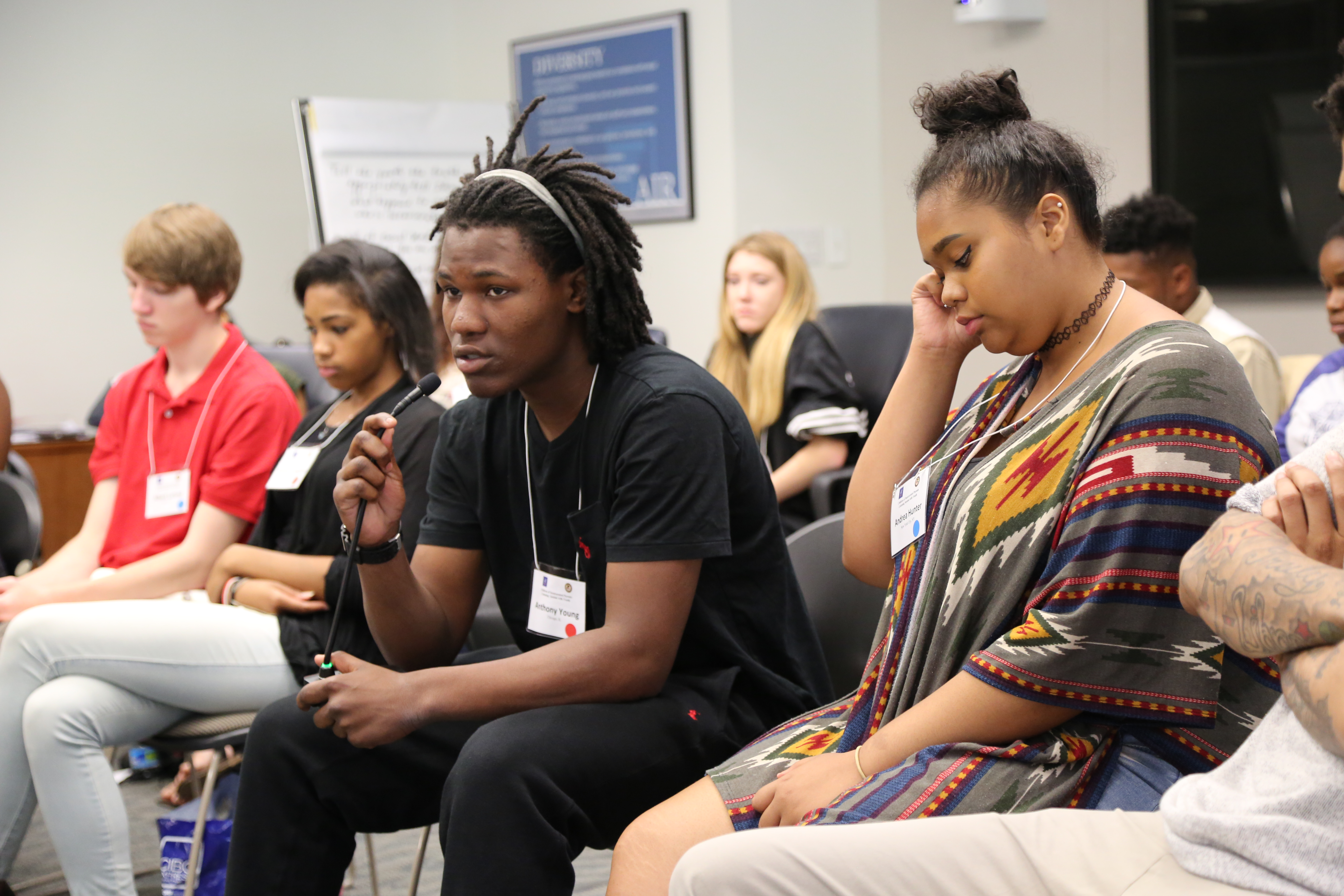 Click here to learn more about the listening session with youth who have an incarcerated parent