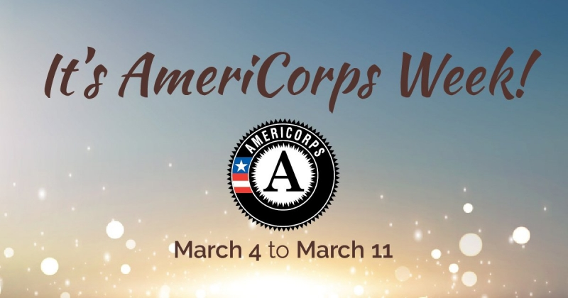 It's AmeriCorps Week: March 4-11