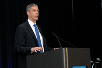 The Honorable Arne Duncan, Secretary of Education, delivers closing remarks on Day 1