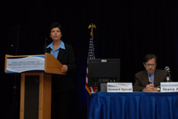 Ileana Arias, Principal Deputy Director, CDC and Howard Spivak, Director, Division of Violence Prevention, CDC