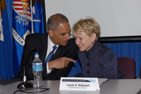 The Honorable Eric Holder, Jr., Attorney General of the United States, U.S. Department of Justice and the Honorable Laurie Robinson, Assistant Attorney General, Office of Justice Programs, U.S. Department of Justice