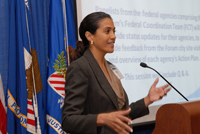 Maria Queen, HUD Liaison, U.S. Department of Housing and Urban Development