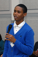Dequan O'Neal, Youth Leader, Neighborhood Services Organization's Youth Initiatives Project, Detroit, MI