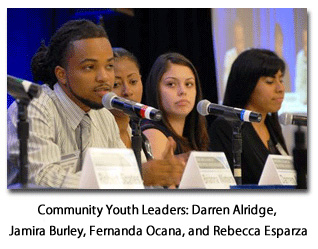 Youth leaders from Forum communities