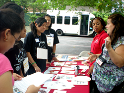 CITY Teens conduct Let's Get Physical: Teen Sports Tournament and Health Fair in New York City