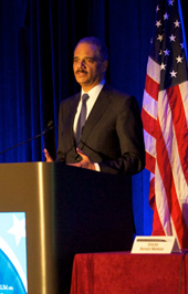 The Honorable Eric Holder, Jr., Attorney General of the United States, U.S. Department of Justice