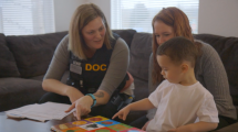 Click here for the feature article: An Unlikely Partnership: Strengthening Families Touched by Incarceration