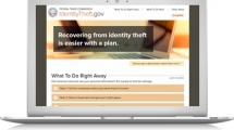 Click here to learn about Recovering from Identity Theft