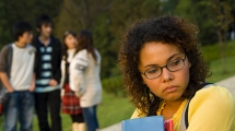 Youth affected by bullying
